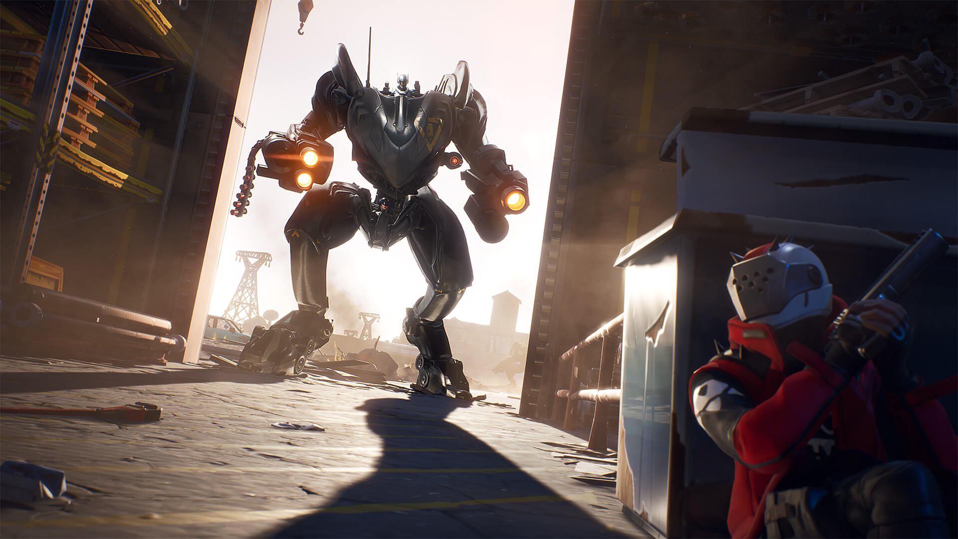 Fortnite Brutes Mechs Suffering Fate Worse Than Being Vaulted Exploding Destroyed Upon Landing Due To A Virus Lurkit