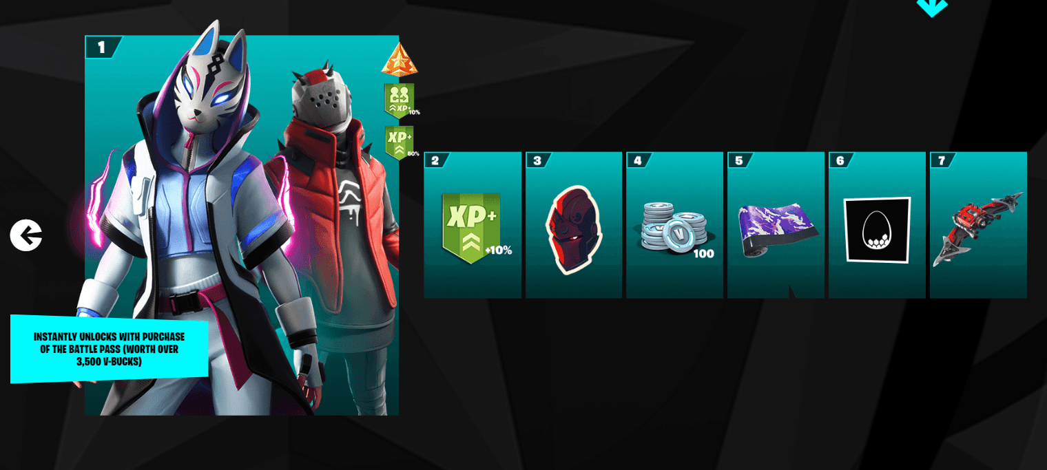 All Fortnite Season X/10 Battle Pass Cosmetics/Items ...