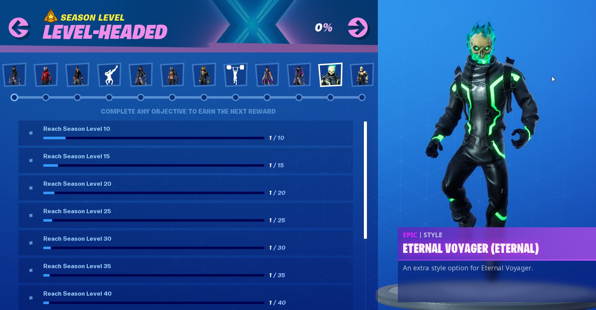 Fortnite Season X 10 Zero Point Challenges Level Headed