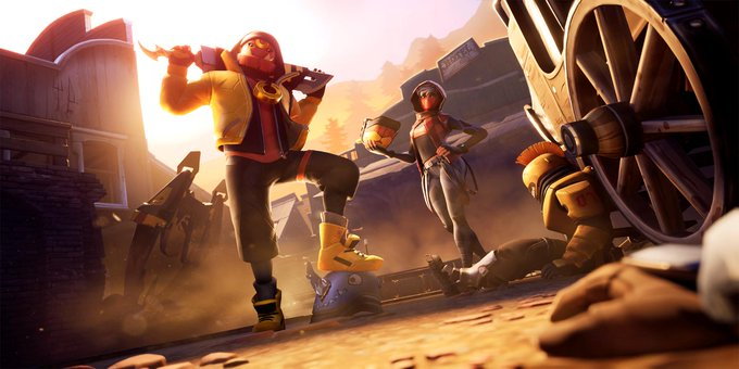 Fortnite Leaked Season X Loading Screen - Shootout at Sundown Limited Time Mission