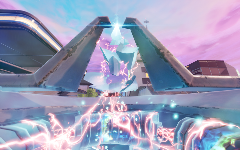 Fortnite Season X Neo Tilted Beacon Activated