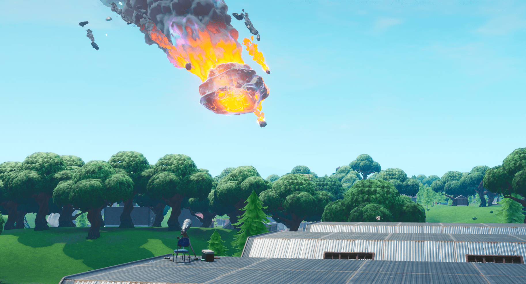 Fortnite Season X Telescope Added