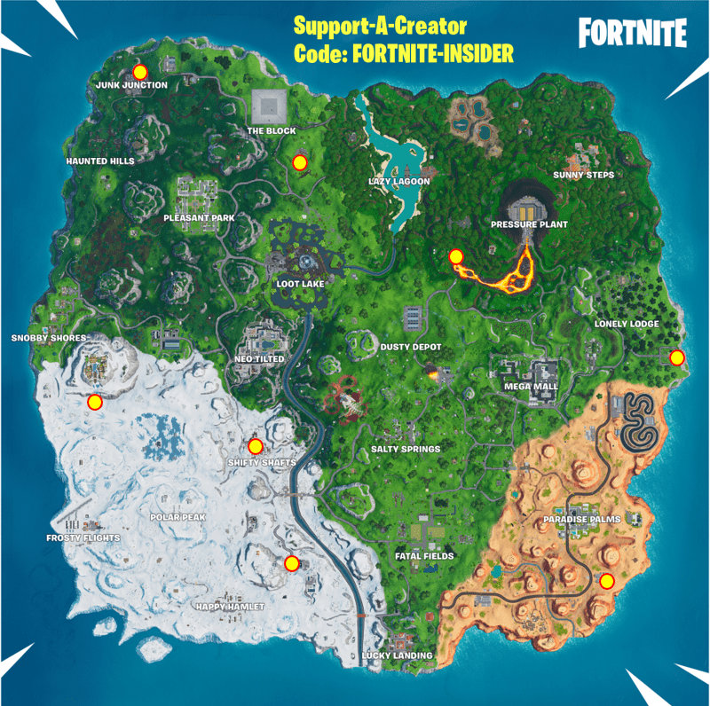 'Fortnite' Graffiti Covered Billboard Locations Spray & Pray Week 2 Guide