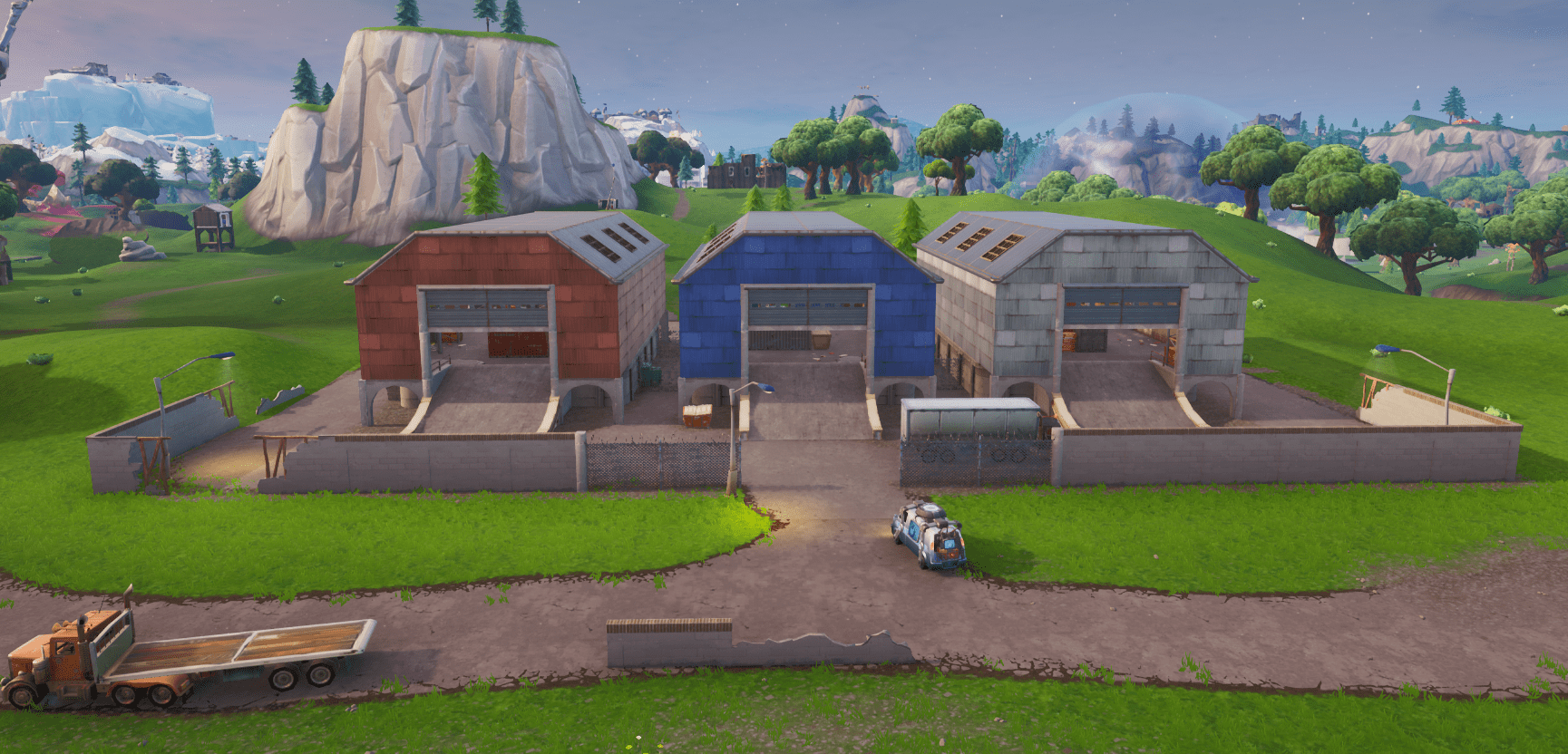 Fortnite Season X (v10.00) Map Changes - Dusty Depot