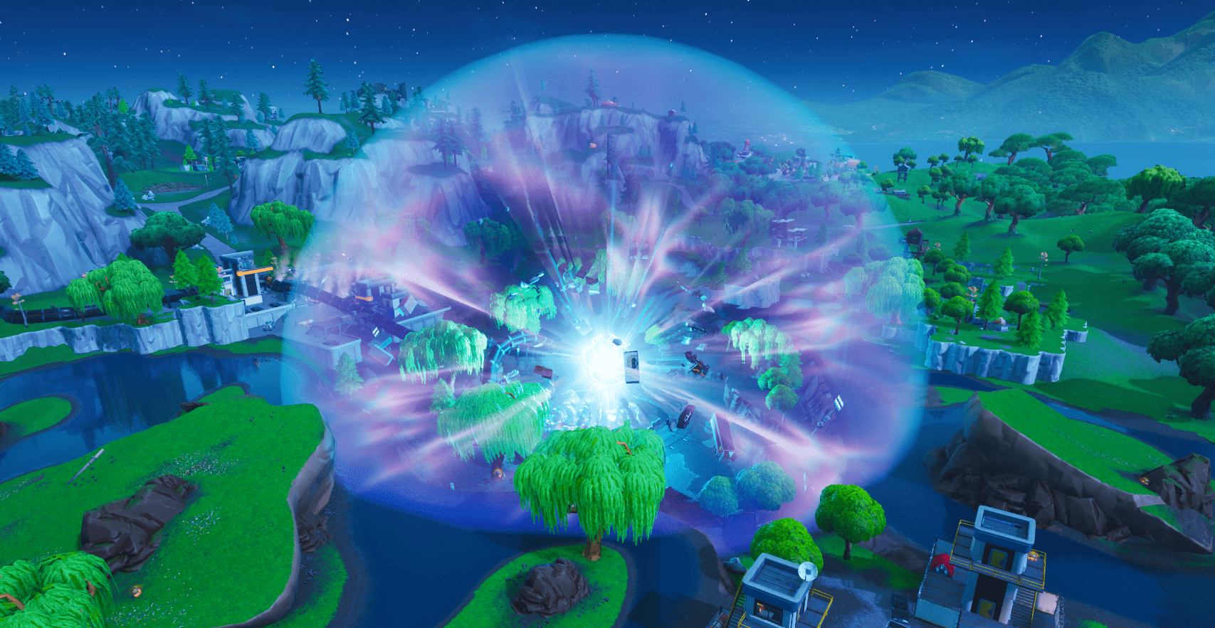 Fortnite Season X (v10.00) Map Changes - Loot Lake - Zero Point Orb