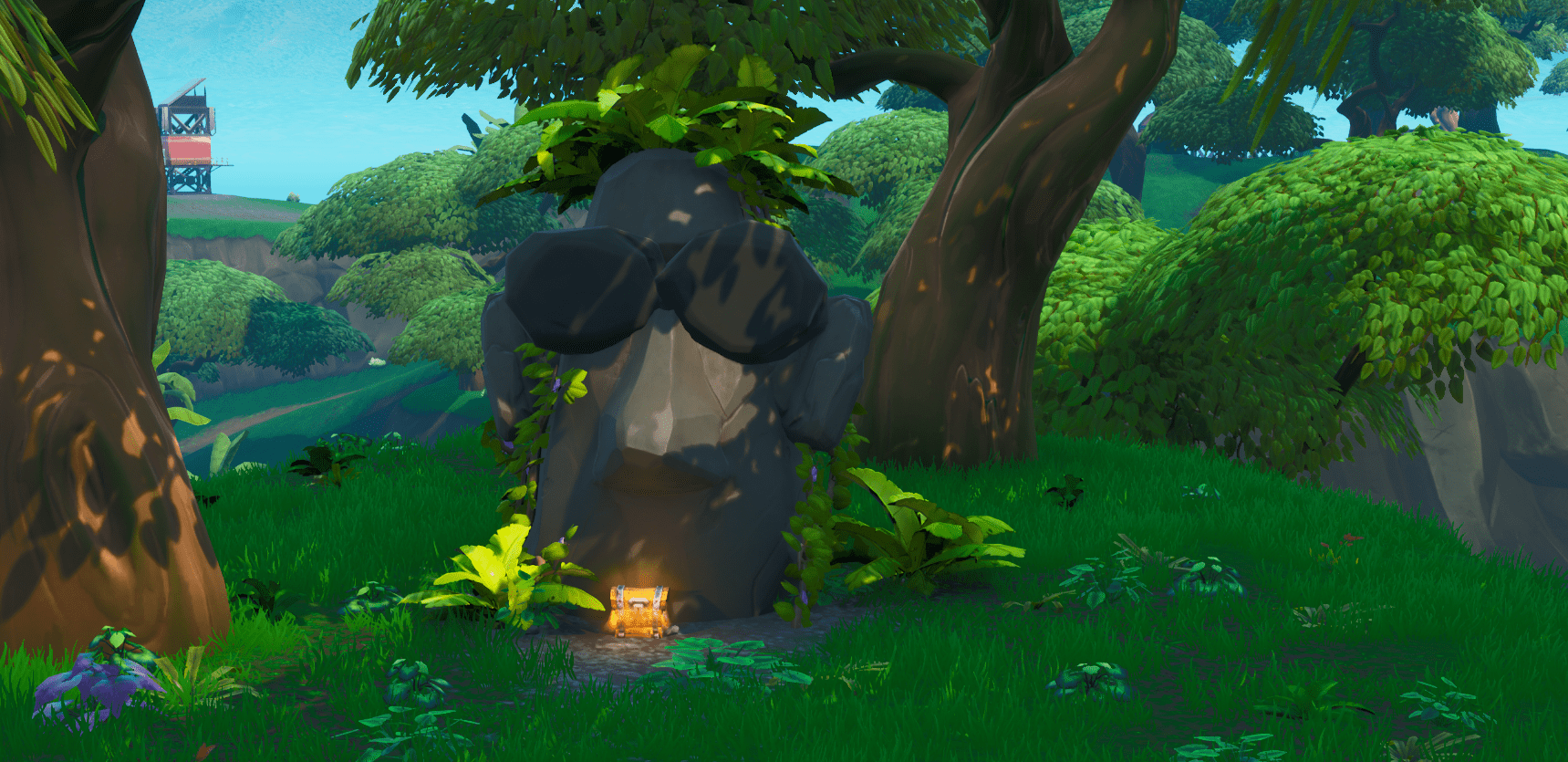 Fortnite Season X (v10.00) Map Changes - Stone Head Has Returned