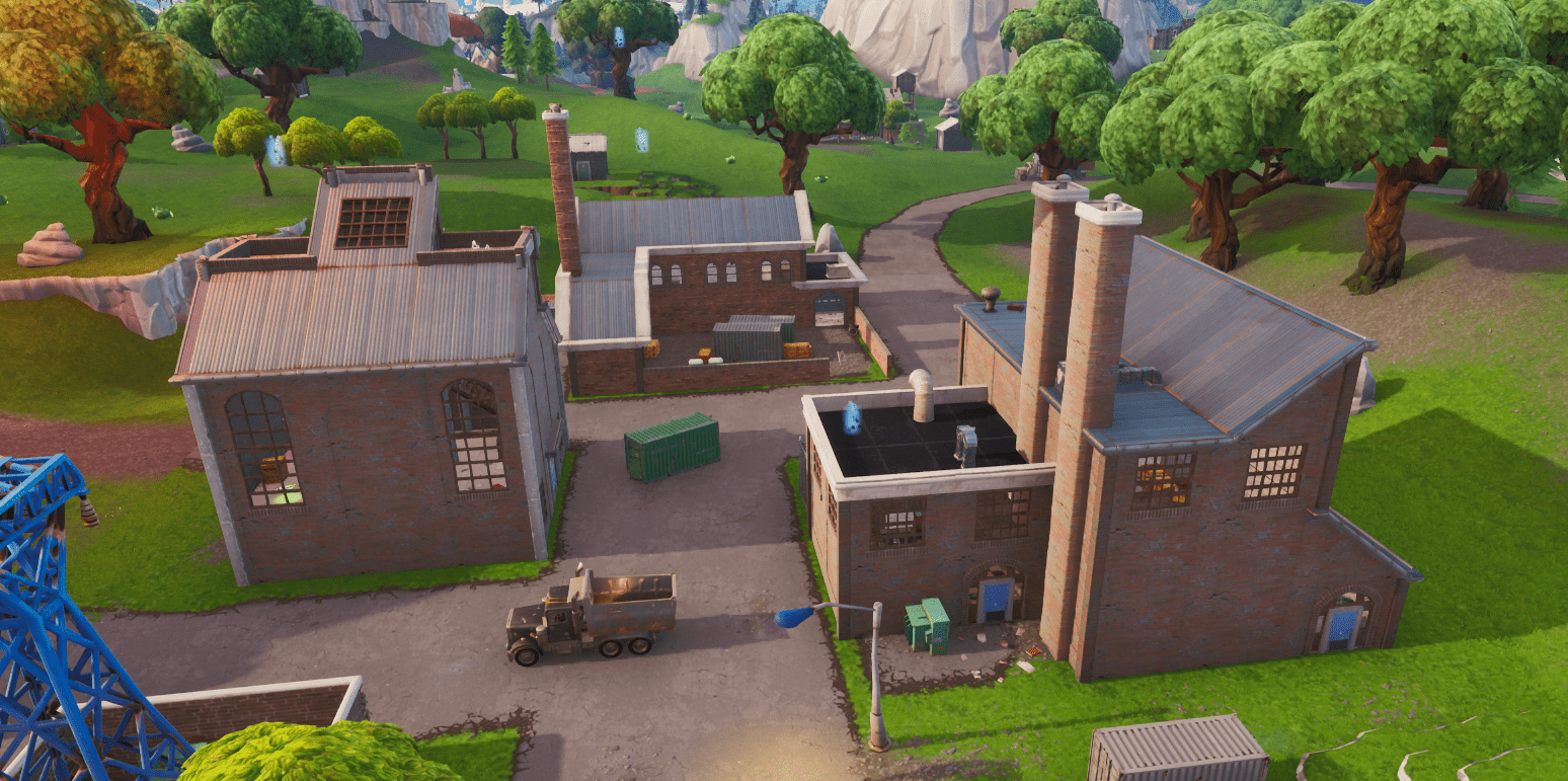 Fortnite Season X (v10.00) Map Changes - The Old Factories