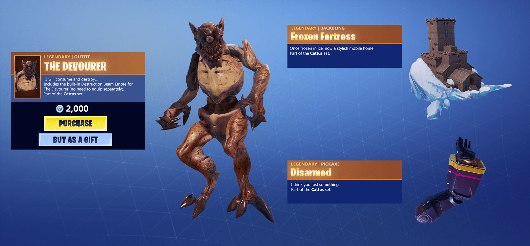 Fortnite Skin Concept - The Devourer via u/10shredder00