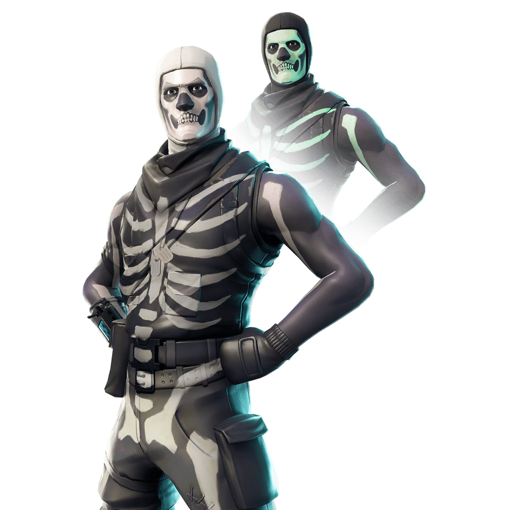 Fortnite Skin - Skull Trooper