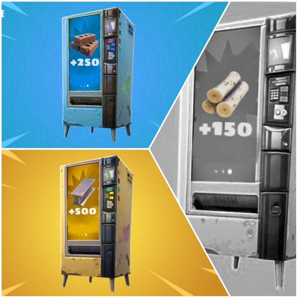 Fortnite Vending Machines Concept - Materials Option