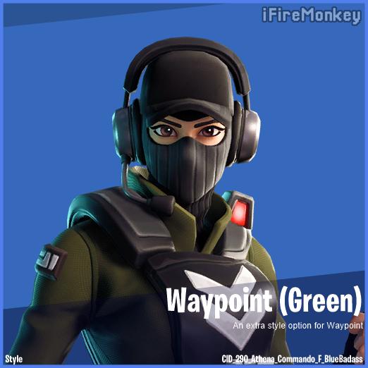Fortnite Waypoint new skin style