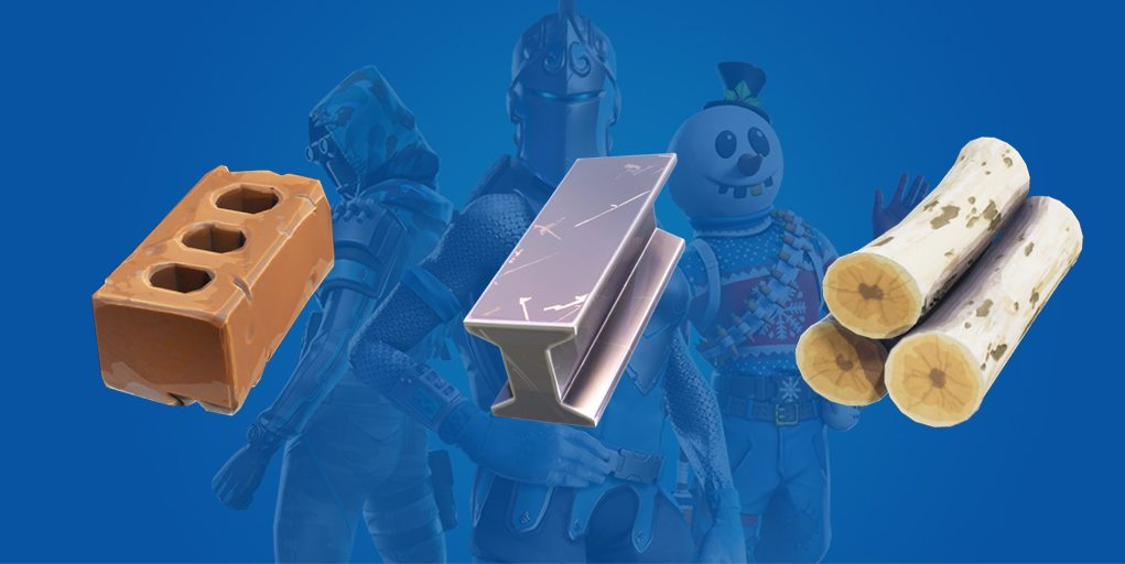 Fortnite collect 100 of each material