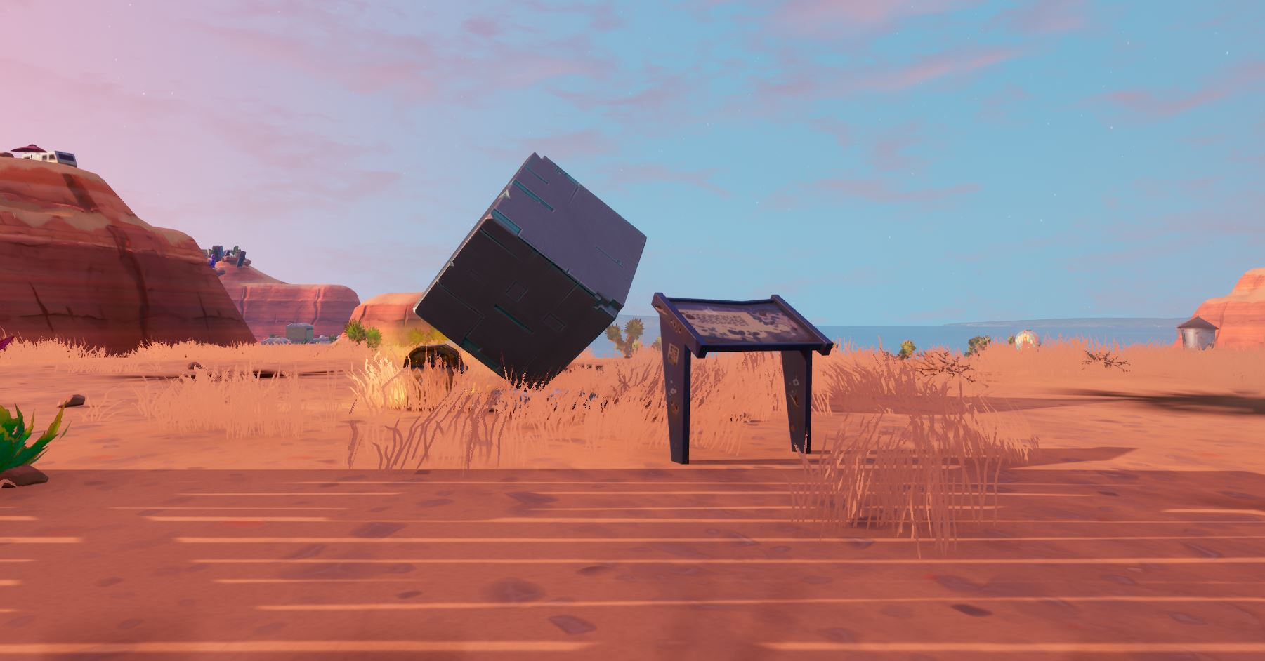 Fortnite Location Of Where To Visit A Memorial To A Cube In