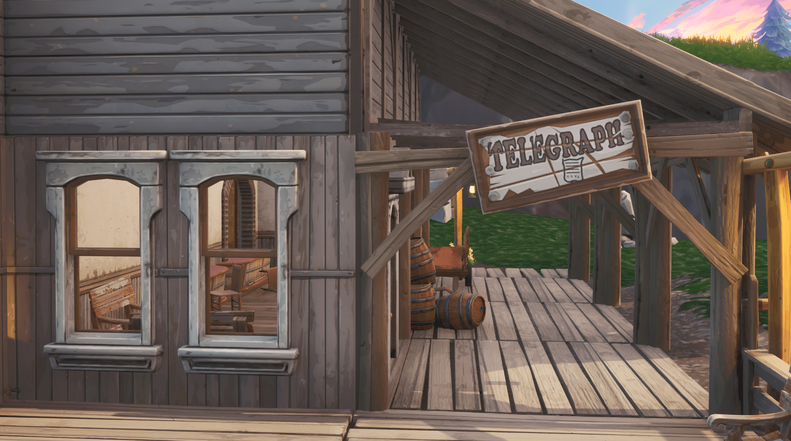 Fortnite v10.00 Content Update Map Changes - Tilted Town Telegraph