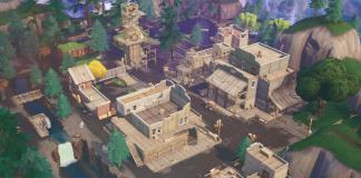 Fortnite v10.00 Content Update Map Changes - Tilted Town