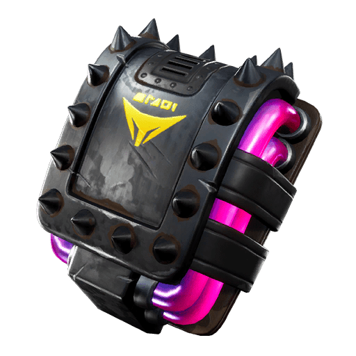 Fortnite v10.10 Leaked Back Bling - Foxpack