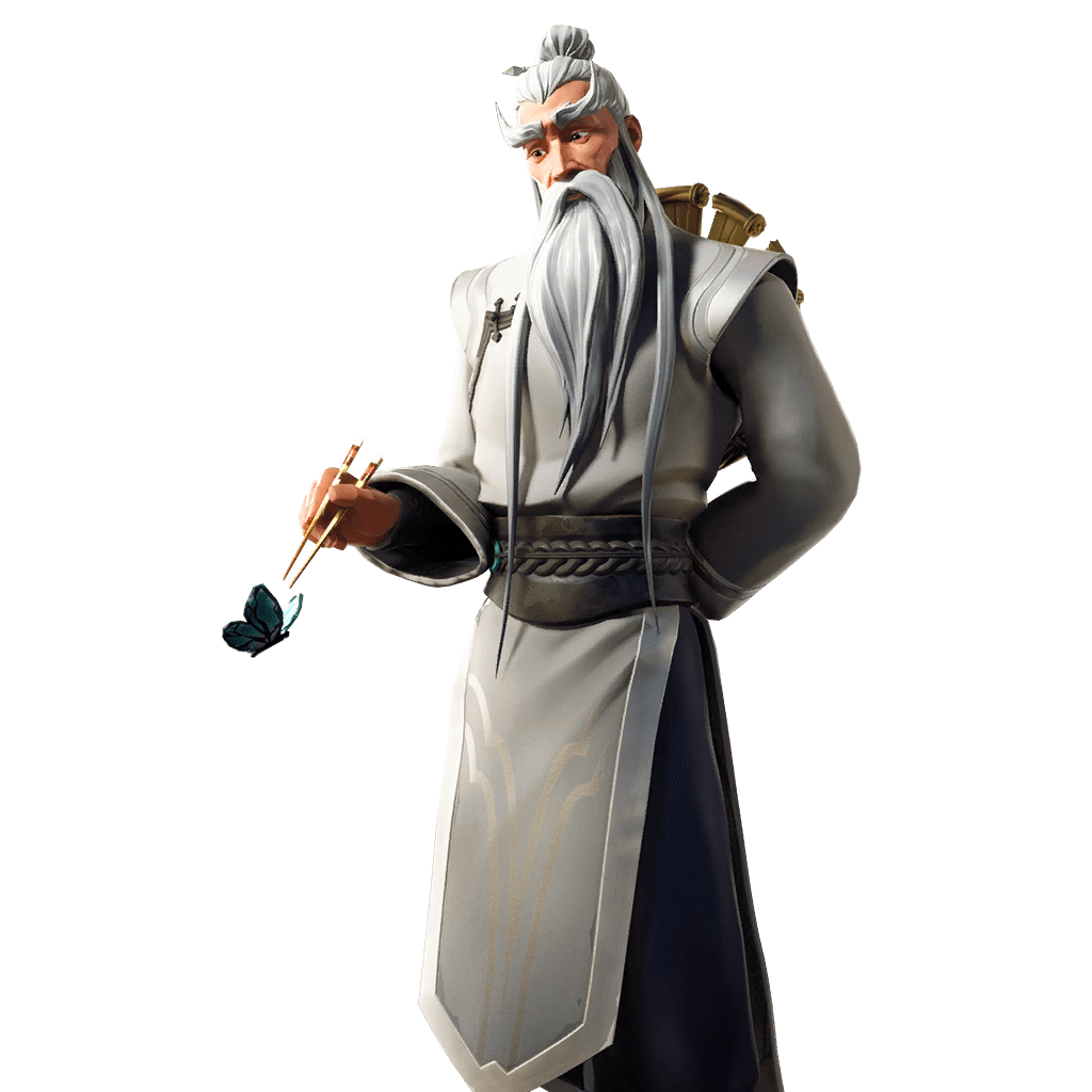Fortnite v10.10 Leaked Skin - Shifu