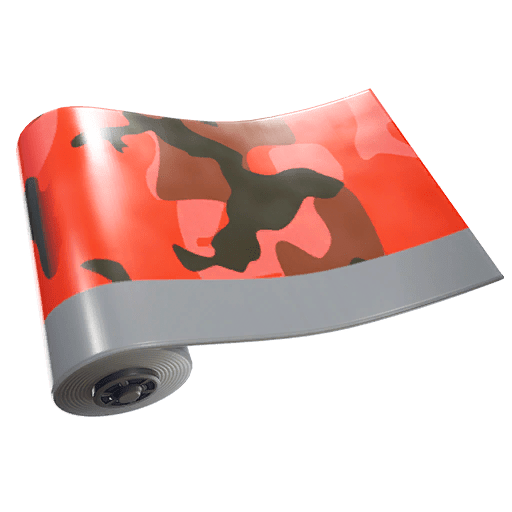 Fortnite v10.10 Leaked Wrap - Red Camo