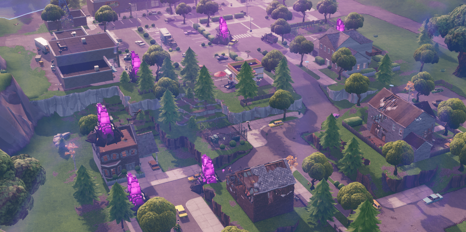 Fortnite v10.10 Map Changes - Retail Row Horde Spawns