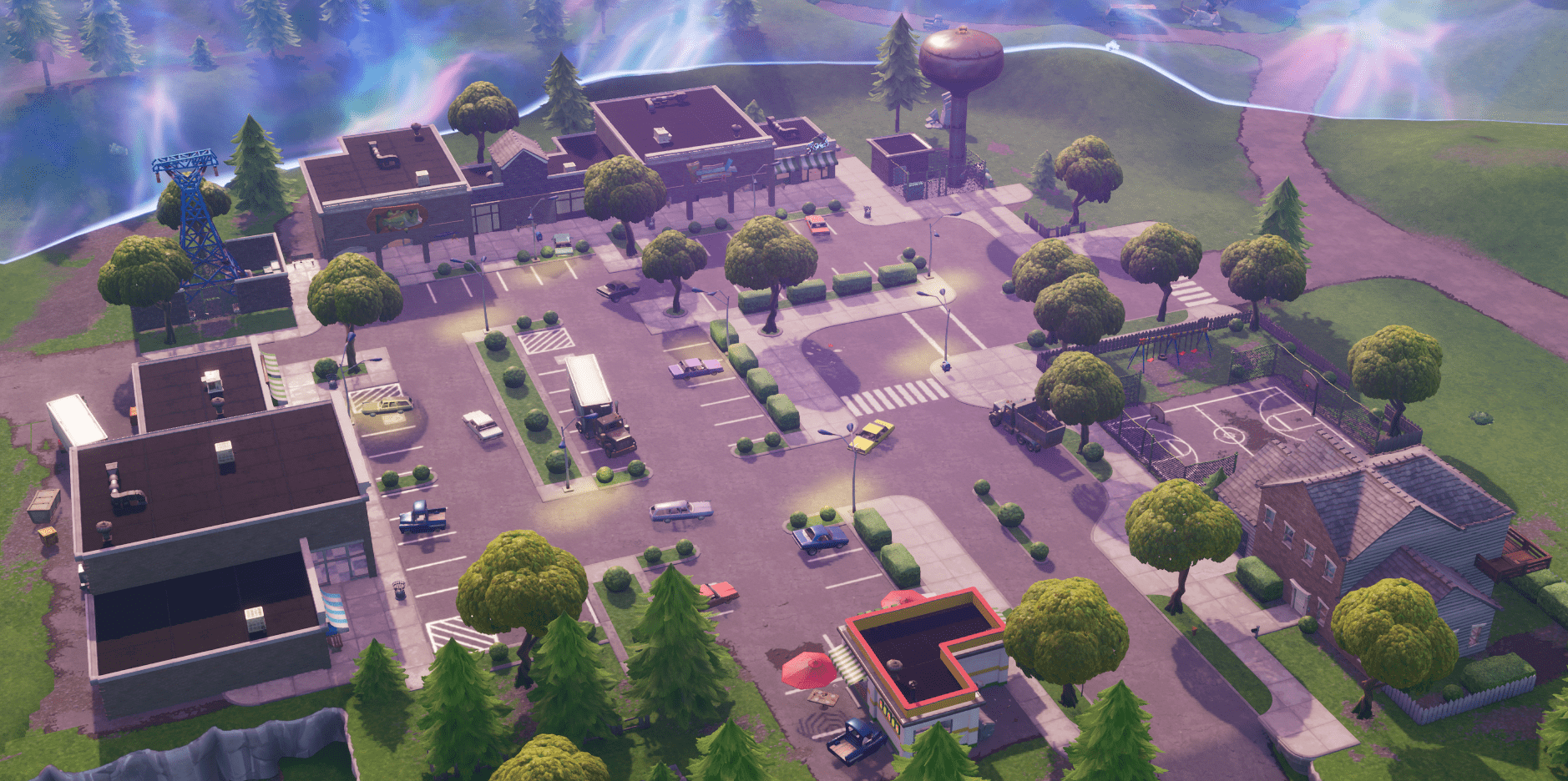 All Fortnite Battle Royale V1010 Map Changes Retail Row