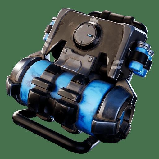Fortnite v10.20 Leaked Back Bling - Containment Pack