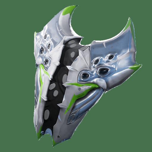 Fortnite v10.20 Leaked Back Bling - Rogue Spider Shield