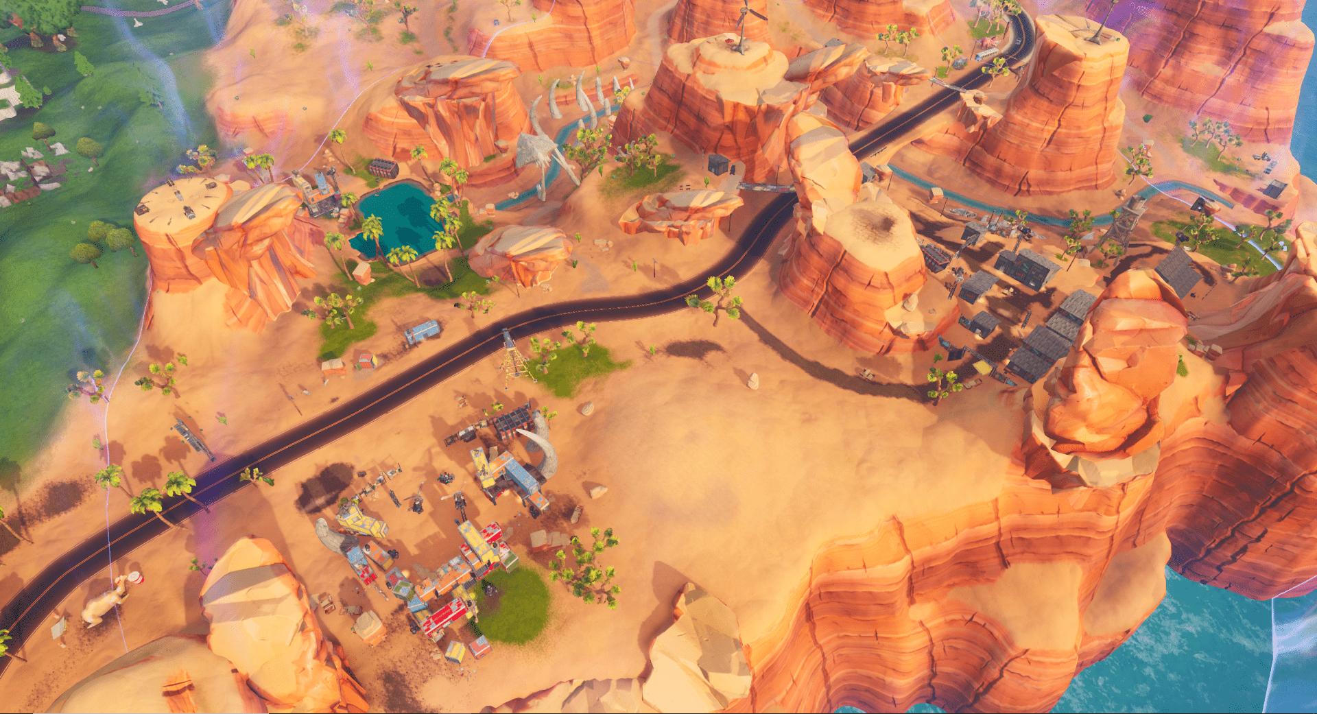 All Fortnite Battle Royale V1020 Map Changes New Pandora