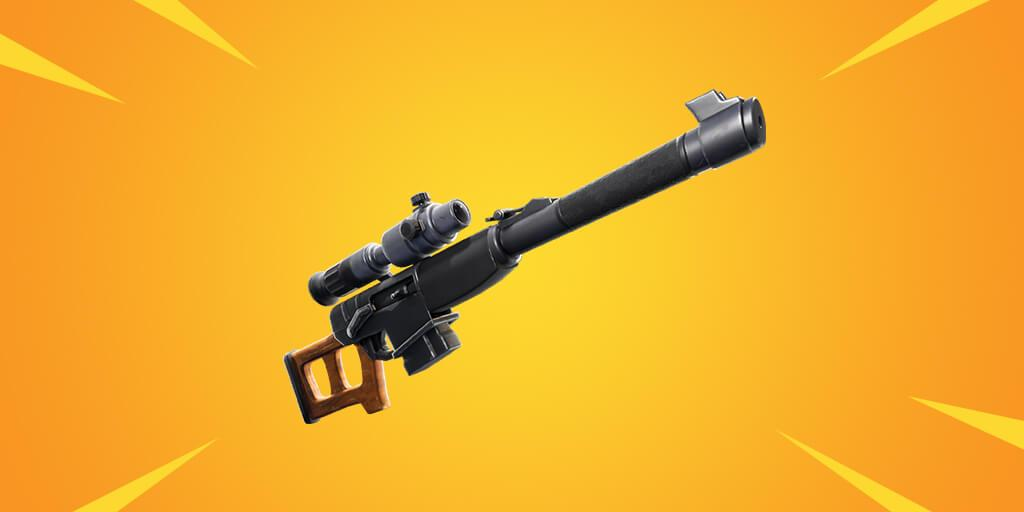 Fortnite weapon - Automatic Sniper Rifle