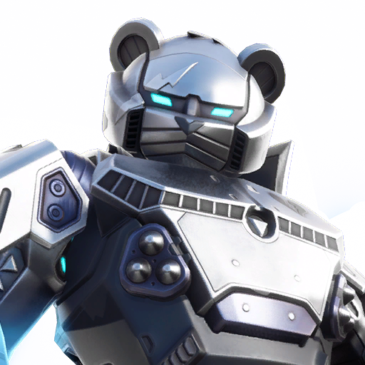 Mecha Team Leader Metal Fortnite Skin Style