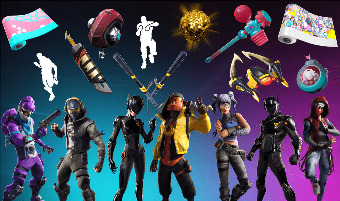 Names And Rarities Of All Fortnite Season X Item Shop Leaked
