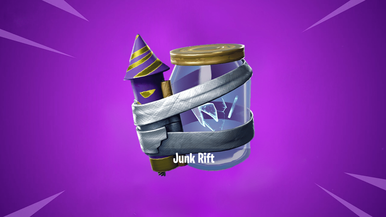 New Leaked v10.10 Fortnite Junk Rift Consumable