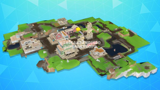 Fortnite v10.00 content patch notes: Tilted Town, Automatic Sniper Rifle