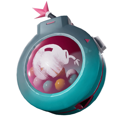 v10.00 Fortnite Season X Leaked Back Bling - Bubble Blast