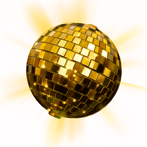 v10.00 Fortnite Season X Leaked Back Bling - Golden Disco