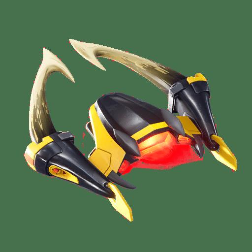 v10.00 Fortnite Season X Leaked Glider - Horned Strike