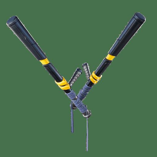 v10.00 Fortnite Season X Leaked Pickaxe - Tac Bats