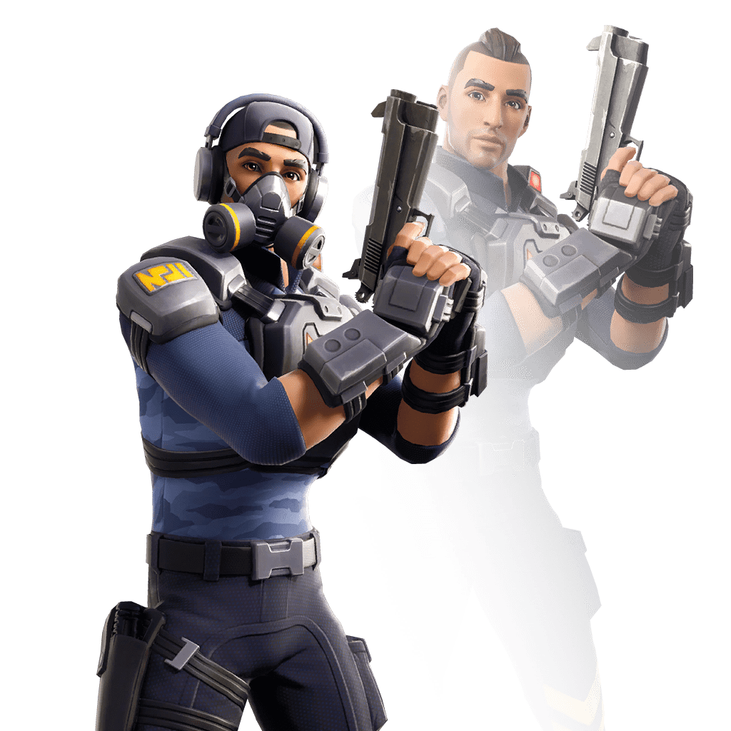 v10.00 Fortnite Season X Leaked Skin - Bravo Leader