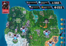 A Meteoric Rise Mission Fortnite Cheat Sheet Map