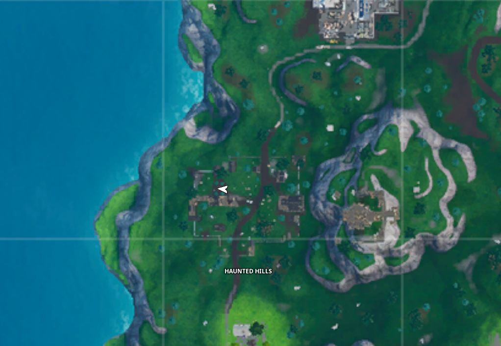 Bat Statue Fortnite Map Location