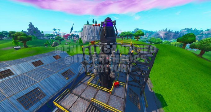 Dusty Depot Visitor Rocket