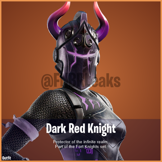 Fortnite Dark Red Knight