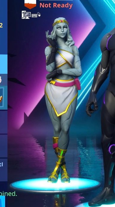 Fortnite Female Cupid / Love Skin Keeper
