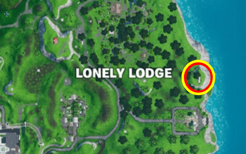 Fortnite Oversized Piano Map Location