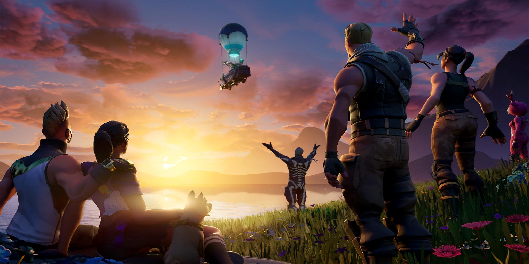 Fortnite Season 10 Week 10 Last Stop Loading Screen