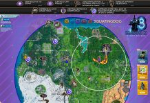 Fortnite Season 10, Week 8 Challenges Storm Racers Mission Cheat Sheet Map