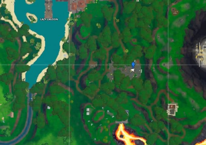 Fortnite Season 10 Week 9 Ready or Not Fortnite map location Hidden battle Star