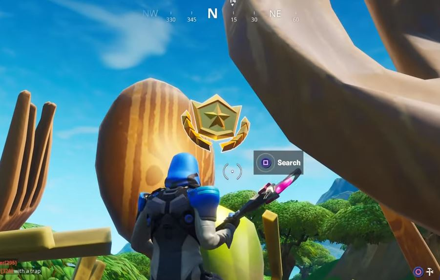 Fortnite Week 9 hidden battle star