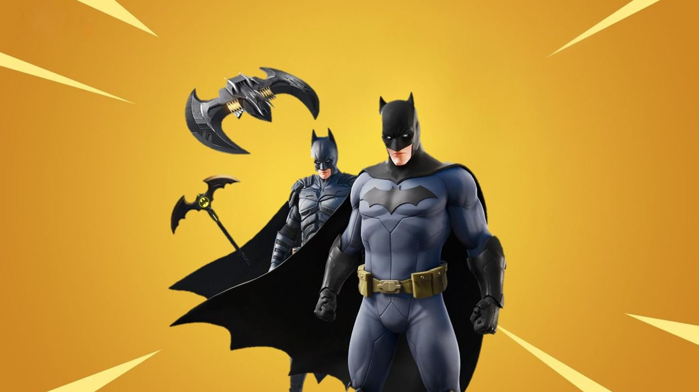Fortnite Cape fortnite x batman - batman skins bundle and loading screen