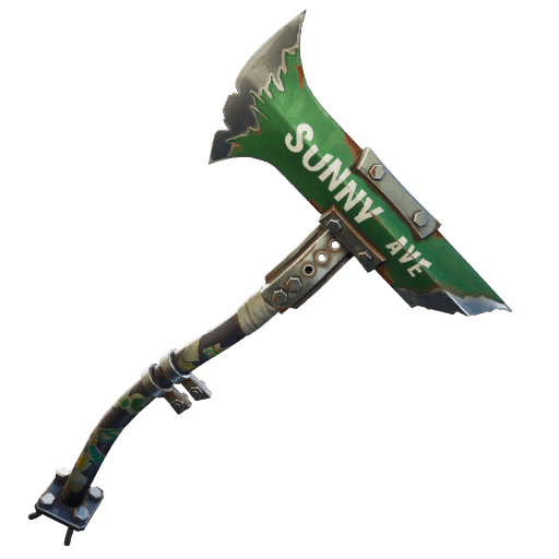 Fortnite v10.30 Leaked Pickaxe - Ave Axe