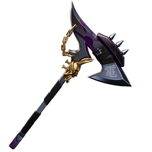 Fortnite v10.30 Leaked Pickaxe - Chained Cleaver